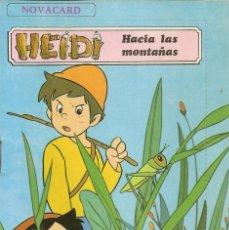 Postales: POSTAL CON CUENTO NOVACARD HEIDI - HACIA LAS MONTAÑAS - EDITORIAL MULHACEN 1975. Lote 98668983