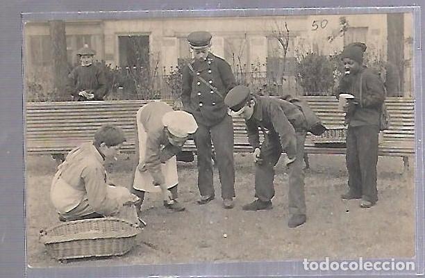 Tarjeta Postal De Ninos Ninos Jugando Con Chin Comprar Postales