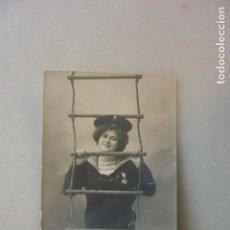 Postales: TARJETA POSTAL NIÑO MARINERO.1912. CIRCULADA. Lote 99069503