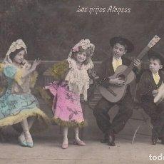Postales: POSTAL: 1908 LOS NIÑOS ALONSOS . Lote 102524483
