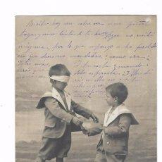 Postales: ANTIGUA POSTAL 1. COLIN - MAILLARD - R.P.I. M.A. NIÑOS JUGANDO CIRCULADA 1903 - REVERSO SIN DIVIDIR . Lote 102615351