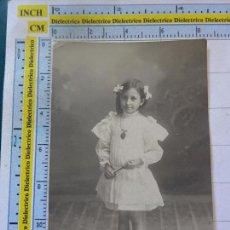 Cartes Postales: POSTAL DE NIÑOS NIÑAS. AÑOS 10 30. NIÑA VESTIDITO. 1412. Lote 102985935