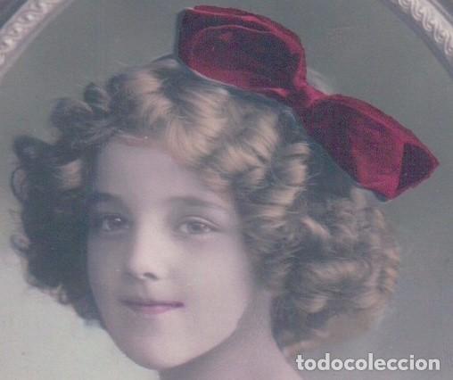 Postales: POSTAL NIÑA EN UN ESPEJO - CIRCULADA 1910 - Foto 3 - 103616059