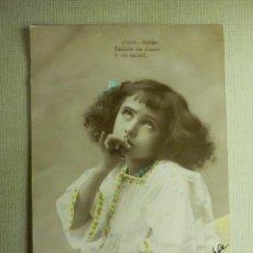 Postales: POSTAL - NIÑOS - AMÉN JESÚS FUENTE DE AMOR Y SALUD - A.L.C. ALC VALLADOLID - +/- 1908 - 217/6. Lote 104410335