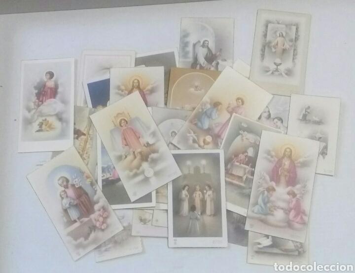 LOTE 31 RECORDATORIO COMUNION AÑOS 50 (Postales - Postales Temáticas - Niños)