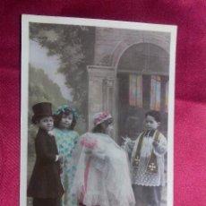 Postales: BONITA POSTAL. EL GRAN BAUTIZO. SAZERAC. MARQUE ETOILE. PARIS.. Lote 104537759