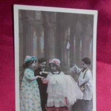 Postales: BONITA POSTAL. EL GRAN BAUTIZO. SAZERAC. MARQUE ETOILE. PARIS.. Lote 104537839