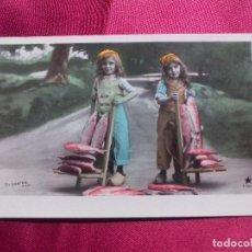 Postales: BONITA POSTAL. PESCATERAS. STEBBING. MARQUE ETOILE. PARIS.. Lote 104538387