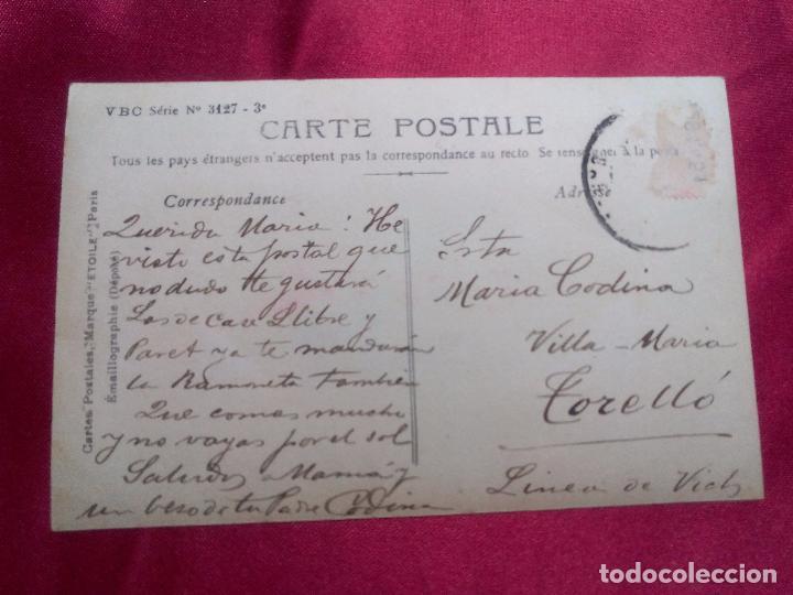 Postales: BONITA POSTAL. PESCATERAS. STEBBING. MARQUE ETOILE. PARIS. - Foto 2 - 104538779