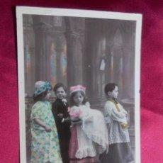Postales: BONITA POSTAL. EL GRAN BAUTIZO. SAZERAC. MARQUE ETOILE. PARIS.. Lote 104538959