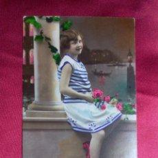 Postales: TARJETA POSTAL. BELLA SEÑORITA POSANDO. FOTOCELERE. 179. PARIS. Lote 104552775
