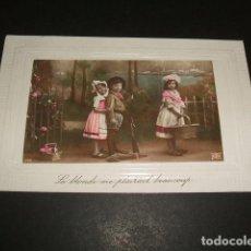 Postales: NIÑOS EN EL CAMPO POSTAL . Lote 110202263