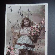 Postales: POSTAL FOTOGRAFICA.CIRCULADA 13-3-1908. Lote 110368903