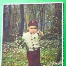 Postales: POSTAL ESCRITA FECHADA EN 1958. Lote 110425883