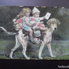 Postales: POSTAL FOTOGRAFICA.CIRCULADA 17-11-1911. Lote 110448315