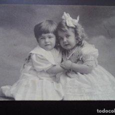 Postales: POSTAL FOTOGRAFICA.CIRCULADA 18-5-1909. Lote 110448555