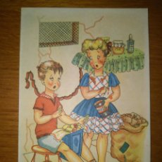Postales: ANTIGUA TARJETA POSTAL INFANTIL AÑOS 40 EDICIONES JDP. Lote 110912684