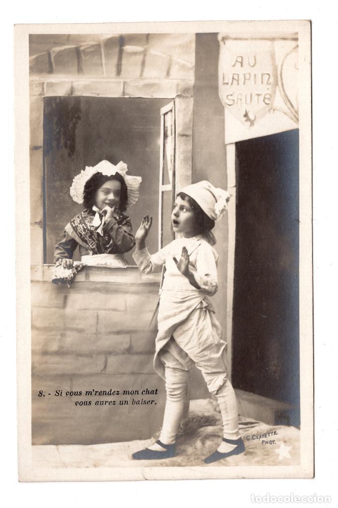 POSTAL CON NIÑOS (Postales - Postales Temáticas - Niños)