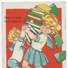 Postales: POSTAL MARI PEPA SERIE A NUM.10. CARTÓN GRUESO. CON MANCHA . Lote 111845079