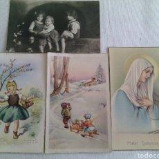 Postales: TARJETA POSTAL.NIÑOS.MATER DOLOROSA. Lote 112265779