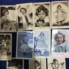 Postales: LOTE DE 11 POSTALES DE LA ACTRIZ SHIRLEY TEMPLE DE NIÑA. Lote 113265207