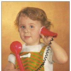 Postales: == P1690 - POSTAL - PRECIOSO NIÑO HABLANDO POR TELEFONO. Lote 115092395
