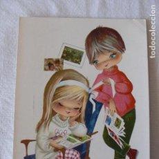 Postales: POSTAL NIÑO Y NIÑA - ESCRITA . Lote 115099027