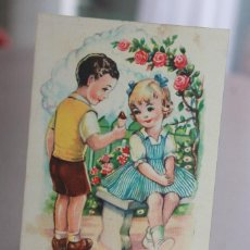 Postales: POSTAL DE EDICIONES DE ARTE. EDITORIAL ARTIGAS SERIE 6. ILUSTRADOR GIRONA. AÑOS 40. INFO.. Lote 119297067