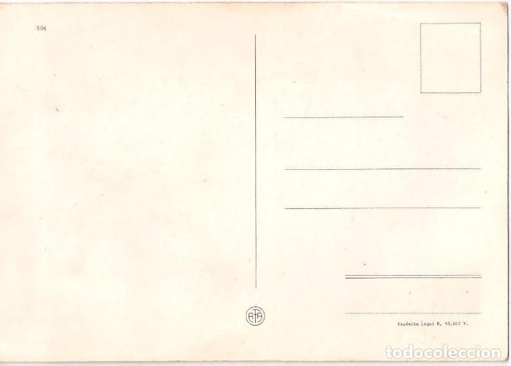 Postales: Antigua Tarjeta postal dedicada a la madre años 70 - Foto 2 - 119458551