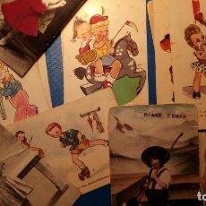 Postales: NIÑOS - POSTALES VARIOS AUTORES - LOTE DE 20 PIEZAS - TAL FOTO - HAY NUEVAS Y CIRCULADAS. Lote 121615495