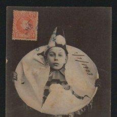 Postales: NIÑO. POSTÁL CIRCULADA EN 1903.. Lote 124667783