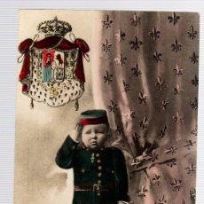 Postales: TARJETA POSTAL S.A.R. EL PRINCIPE DE ASTURIAS. CA1741. MP MADRID. AÑO 1908. Lote 126242598