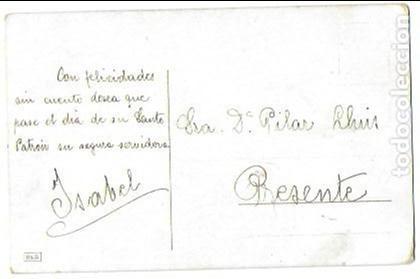 Postales: P- 8456. POSTAL H.S ILUSTRACION NIÑO. - Foto 2 - 128507527