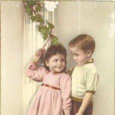 Postales: ANTIGUA POSTAL NIÑOS AÑOS 60 - EDITA CYZ 519/A - ESCRITA 1959. Lote 128973527
