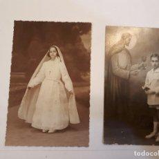 Postales: POSTALES NIÑOS COMUNIÓN. Lote 129225663