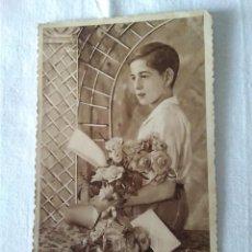 Postales: 33-TARJETA POSTAL ROMANTICA, JOVEN, MOD 4063-1 BARNA, ESCRITA. Lote 129270103
