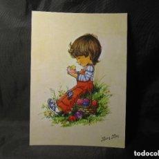 Postales: POSTAL MARY MAY 407/2 COLECCIÓN PERLA PROCEDENTE DE PAPELERÍA. Lote 132483670