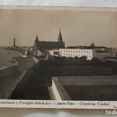 Postales: POSTAL DE CHIPIONA DE 1948. Lote 132873950