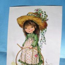 Postales: POSTAL DE NIÑA CON ARO DE MARY MAY. AÑO 1981. Lote 133970474