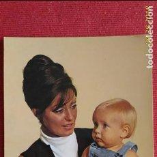 Postales: FOTO POSTAL. MADRE E HIJO. IMPRESO EN ESPAÑA. SIN CIRCULAR. Lote 134867026