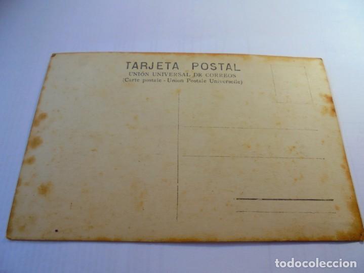 Postales: magnifica foto postal antigua sobre 1920,niño disfrafado de carlot - Foto 3 - 135011898