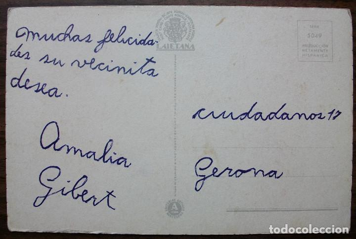 Postales: TARJETA POSTAL LAIETANA. SERIE 5049 - Foto 2 - 136377726