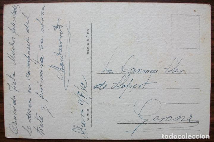 Postales: POSTAL CMB SERIE 25 FIRMADO EL 14 DE JULIO 1942 - Foto 2 - 136383338