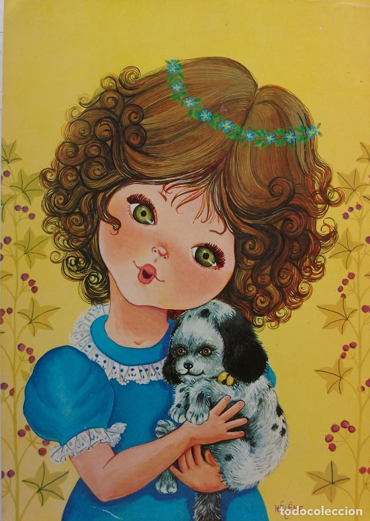 TARJETA POSTAL BERGAS (GIRL) - SIN CIRCULAR (Postales - Postales Temáticas - Niños)