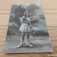 Postales: ANTIGUA FOTO POSTAL COLOREADA. LEVI FILS PARIS. Lote 139476954