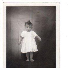 Postales: TARJETA POSTAL FOTOGRAFICA INFANTIL. UN BEBE.. Lote 140093082