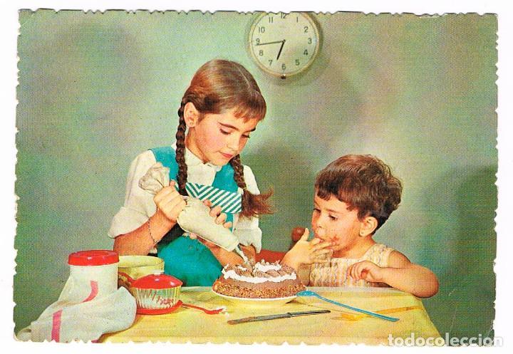 ´NIÑA PASTELERA (Postales - Postales Temáticas - Niños)