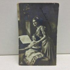 Postales: POSTAL NIÑA TOCANDO PIANO - ESCRITA - AÑO 1911. Lote 142461014