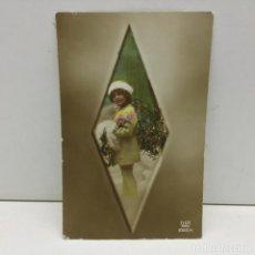 Postales: POSTAL INFANTIL - NIÑA - DIX PARÍS - 2152/4 - ESCRITA. Lote 142461830