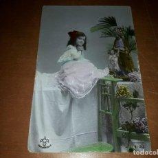 Postales: POSTAL NIÑA. ALC VALLADOLID. ANTIGUA Y RARA. HD. Lote 143091898